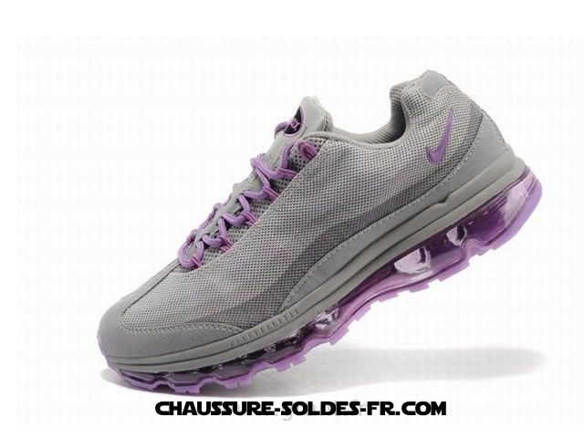 Nike Air Max 95 360 Wire Drawing Gris Pourpre Femme Nike Air Max 95 Noir - Nike Air Max 95 360 Wire Drawing Gris Pourpre Femme Nike Air Max 95 Noir-2