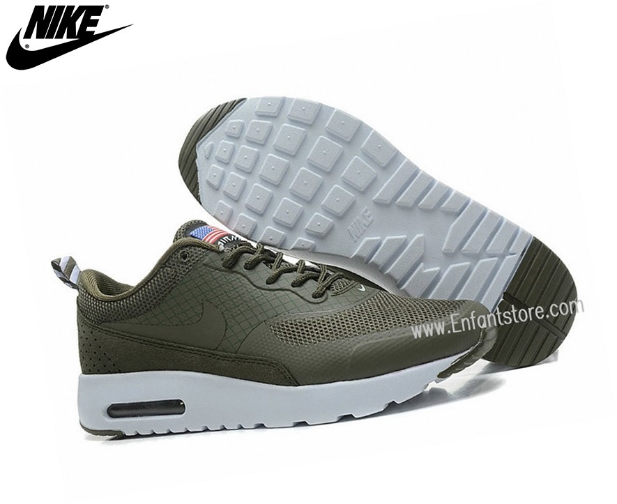 Nike Run Chaussures Homme Air Max Thea Print Usa Gris - Nike Run Chaussures Homme Air Max Thea Print Usa Gris-2