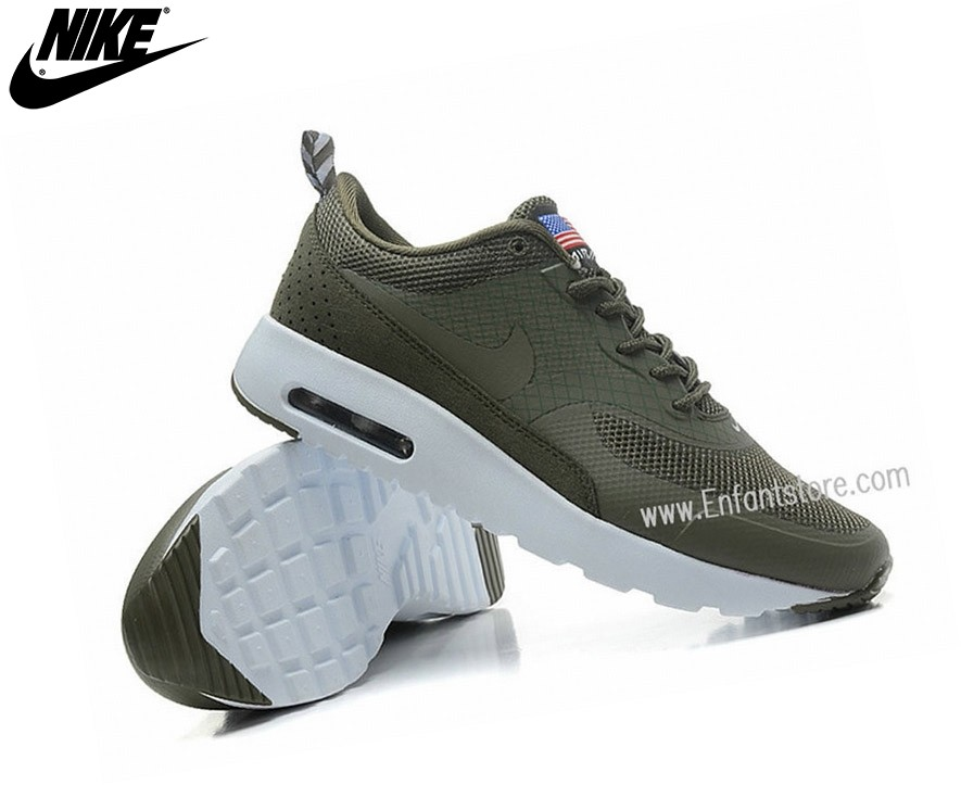 Nike Run Chaussures Homme Air Max Thea Print Usa Gris - Nike Run Chaussures Homme Air Max Thea Print Usa Gris-3