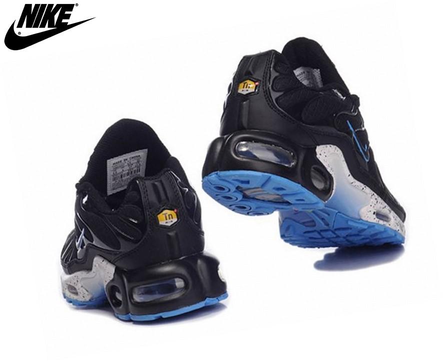 Nike Air Max Chaussures De Sport Pour Garçon Tn Requin Plus Noir/Bleu - Nike Air Max Chaussures De Sport Pour Garçon Tn Requin Plus Noir/Bleu-2