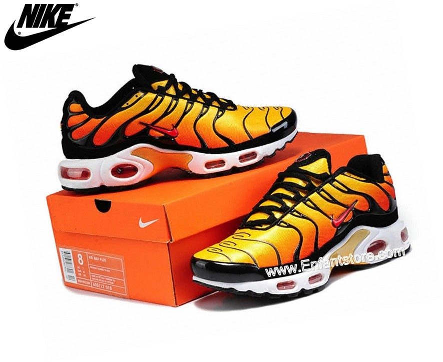 Nike Air Max Chaussures De Running Tn Requin/Tuned 1 Jaune 604133-780 - Nike Air Max Chaussures De Running Tn Requin/Tuned 1 Jaune 604133-780-3