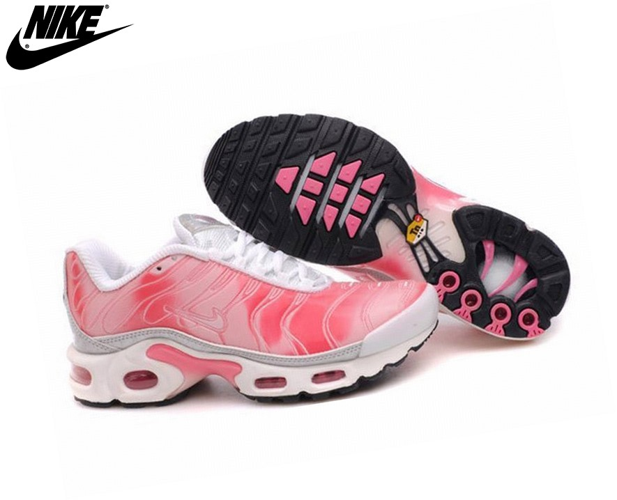 Nike Tn Requin/Nike Tuned 1 Fille Baskets Rose - Nike Tn Requin/Nike Tuned 1 Fille Baskets Rose-0