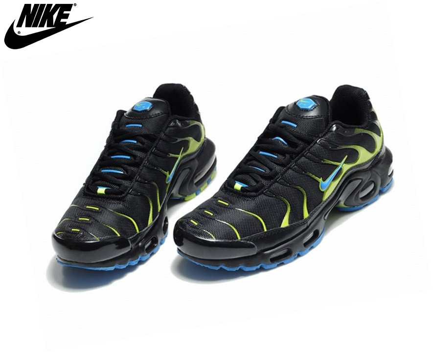 Nike Homme Chaussures De Course Tn Requin/Nike Tuned Noir - Nike Homme Chaussures De Course Tn Requin/Nike Tuned Noir-2