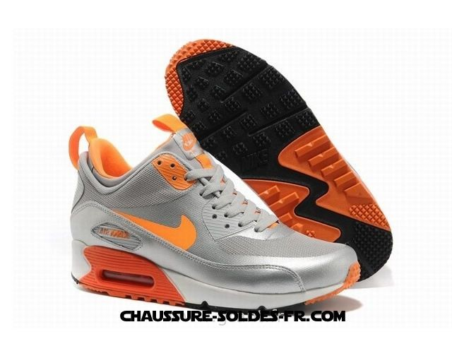 Nike Air Max 90 Mid No Sew Sneakerboots Ns Silver Orange Homme Air Max 90 Blanc Homme - Nike Air Max 90 Mid No Sew Sneakerboots Ns Silver Orange Homme Air Max 90 Blanc Homme
