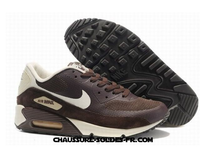 ... Nike Air Max 90 Hyperfuse Fur Brun Blanc Homme Air Max 90 Green - Nike Air ...