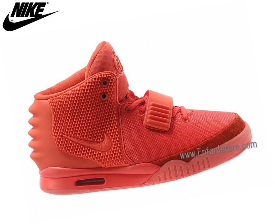 Nike Chaussures De Course Femme Air Yeezy 2 Gs All Rouge 508215-660 - Nike Chaussures De Course Femme Air Yeezy 2 Gs All Rouge 508215-660