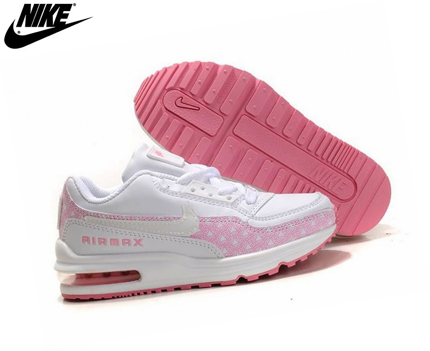 ... Nike Air Max Tld Sneakers Pour Fille Blanc/Rose Officiel - Nike Air Max Tld ...