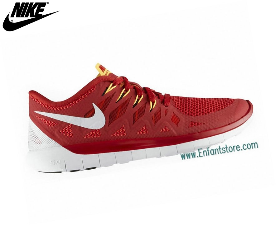 buy online 0c686 ddeb8 ... Nike Free 5.0 Homme Baskets Logan Red 642198-800 - Nike Free 5.0 Homme  Baskets ...
