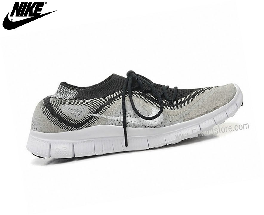 brand new e9c1d 5c6a9 ... Nike Free Flyknit Chaussures Homme De Running Le Nike Free Black Dark  Grey 615806-012 ...