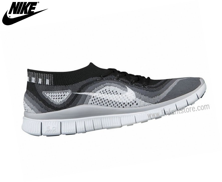 Nike Free Flyknit Chaussures Homme De Running Black Dark Grey 615805-012 - Nike Free Flyknit Chaussures Homme De Running Black Dark Grey 615805-012