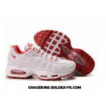Nike Air Max 95 Homme Blanc Rouge Homme Nike Air Max Total 365