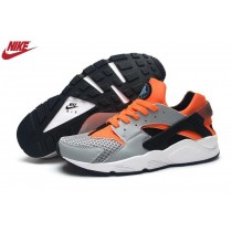 Homme Nike Air Huarache Noir/Gris/Orange France