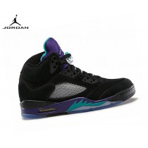 Air Jordan 5 (v) Retro Homme Running Chaussures Black Grape 136027-007