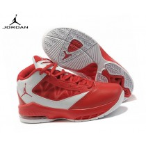 Jordan Flight The Power Chaussures Basket_Ball Garçon Blanc/Rouge Tn Requin Rose