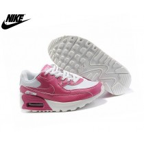Nike Air Max 90 Sneakers Pour Fille Nike Pour Enfant Rose/Blanc