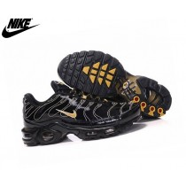 Nike Air Max Tn Fluorescente Trainers Homme Noir/Or 604133 387h