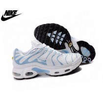 Nike Air Max Baskets Homme Tn/Tuned 1 Tn Blanc/Blue