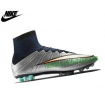 Superfly Cr Ag-r Nike Mercurial Vapor Chaussure De Football Pour Terrain Synthetique Homme Argent/Noir 718778-003