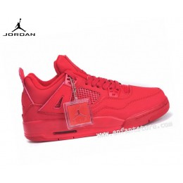 Nike Air Jordan 4/v Retro Gs Homme Sneakers Rouge