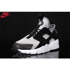 Authentique Hommes Nike Air Huarache Ultra Noir/Gris