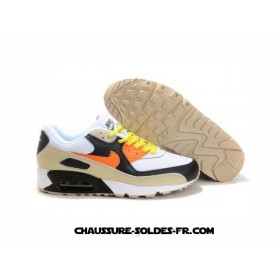 Nike Air Max 2014 Homme Noir Blanc Orange Beige Acheter Nike Air Max 2014