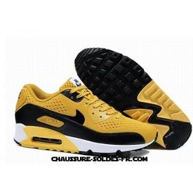 Nike Air Max 90 Em 2014 Jaune Noir Homme Ice Air Max 90
