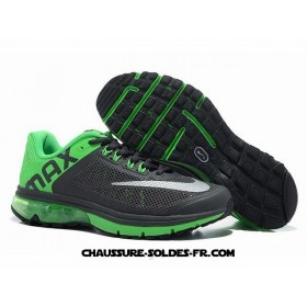 Nike Air Max 2014 Homme Dark Gris Vert Nike Air Max 2014 Running