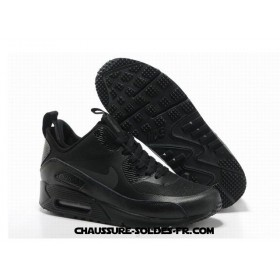 Nike Air Max 90 Mid No Sew Sneakerboots Ns All Noir Homme
