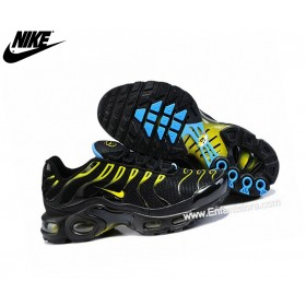 Nike Air Max Chaussures De Running Tn Requin/Tuned 1 Noir/Jaune