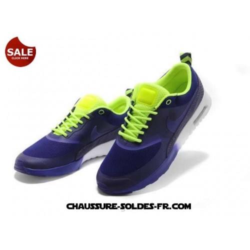 Nike Air Max Thea Print Femme Violet Et Blanc