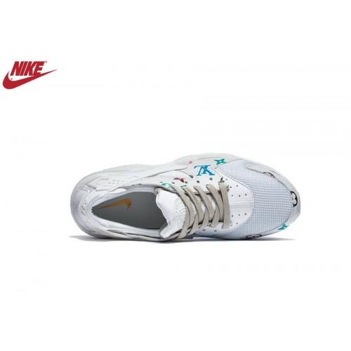 Femme Nike Air Huarache Blanc Soldes