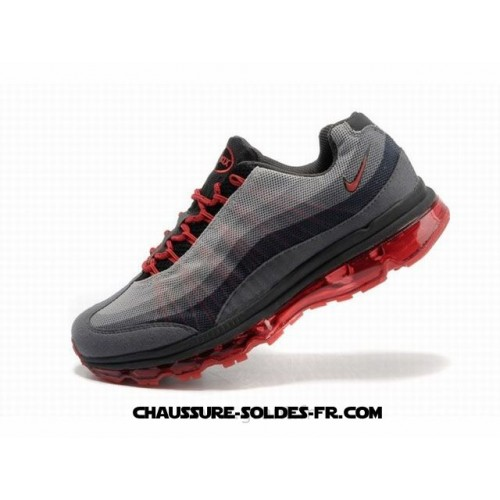 Nike Air Max 95 360 Wire Drawing Gris Rouge Homme Nike Air Max 2000