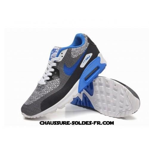 Nike Air Max 90 Seamless Gris Bleu Homme Nike Air Max 90