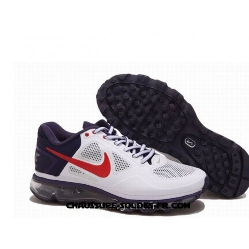 Nike Air Max 2013 Trainer 1.3 Blanc Pourpre Homme