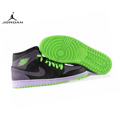 Nike Air Jordan 1 Mid Gs Baskets Pour Femme Joker 136065-021