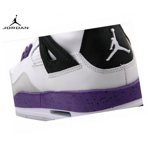 Nike Air Jordan 4/v Retro Gs Baskets Running Ultraviole
