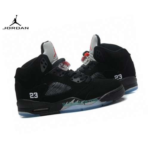 Run Chaussures Air Jordan 5/v Retro Gs Black Metallic