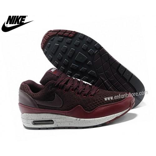Nike Homme Chaussures Basket_Ball Air Max 1 Premium Em Noir/Brun