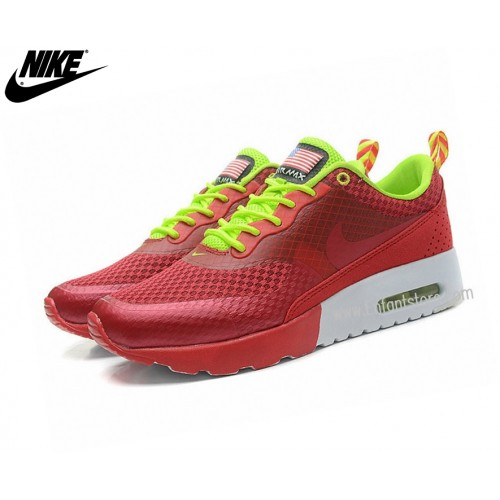 Nike Run Chaussures Homme Air Max Thea Print Usa Rouge