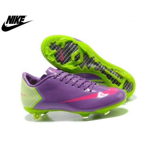 10 Chaussures De Foot Homme Purple/Jaune/Rose