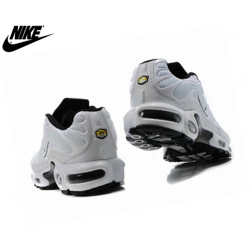Nike Homme Chaussures De Course Tn Requin/Nike Tuned Blanc