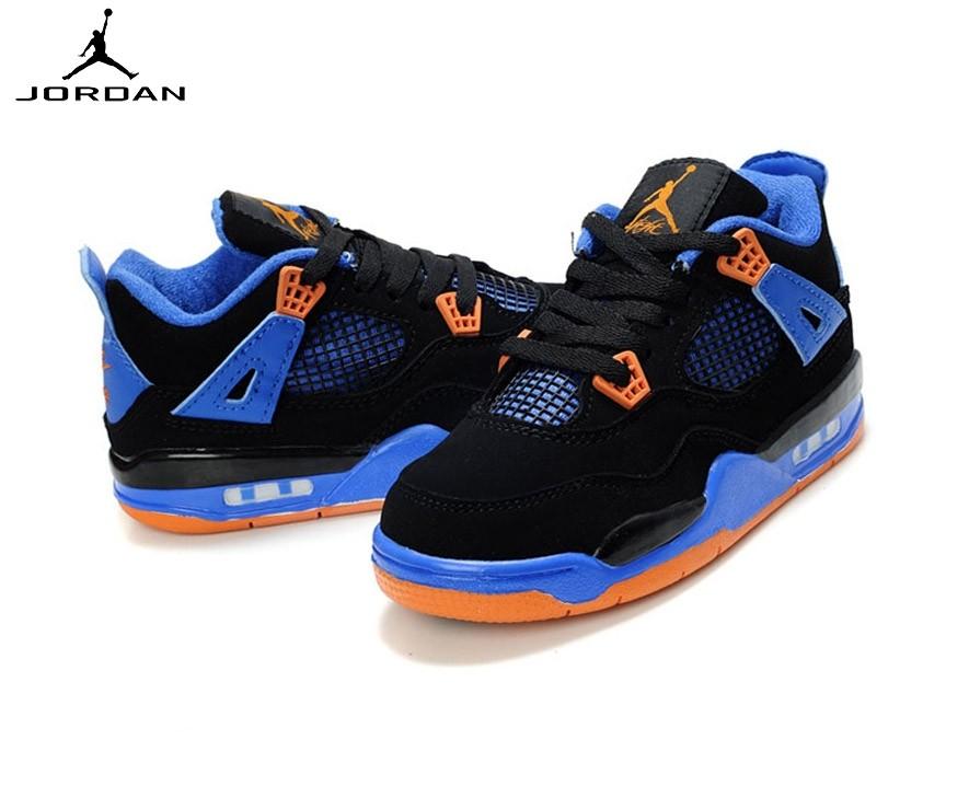 Air Jordan 4 Retro - Running Chaussure Pour Garçon  - Air Jordan 4 Retro Running Chaussure Pour Garçon -1