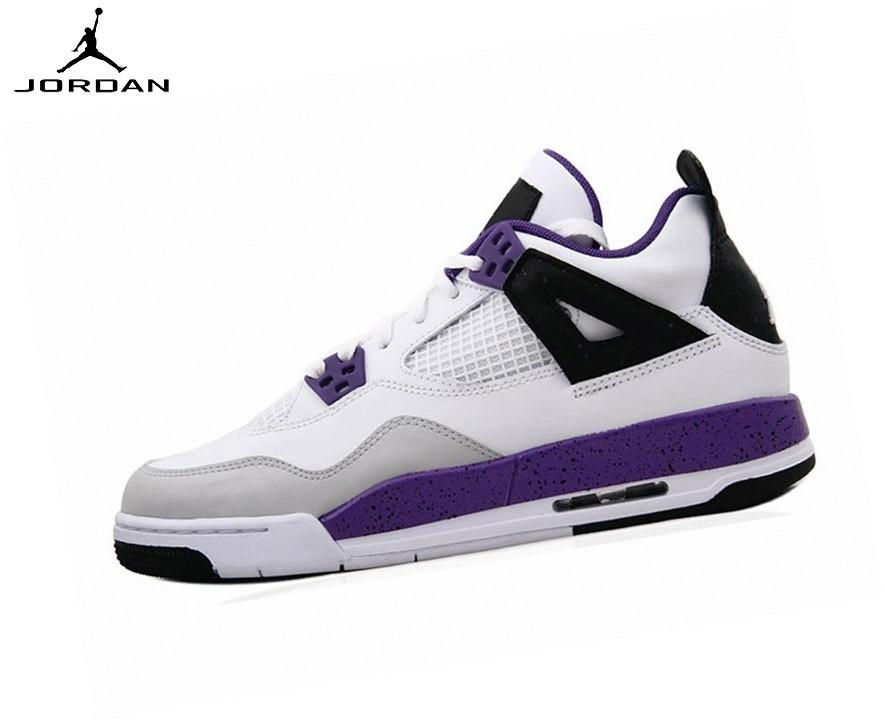 Nike Air Jordan 4/v Retro Gs - Baskets Running Ultraviole - Nike Air Jordan 4/v Retro Gs Baskets Running Ultraviole-2