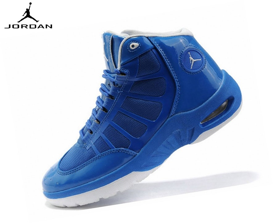 Jordan Play In These f Chaussures De Sport Pour Garçon Bleu/Blanc - Jordan Play In These f Chaussures De Sport Pour Garçon Bleu/Blanc-4