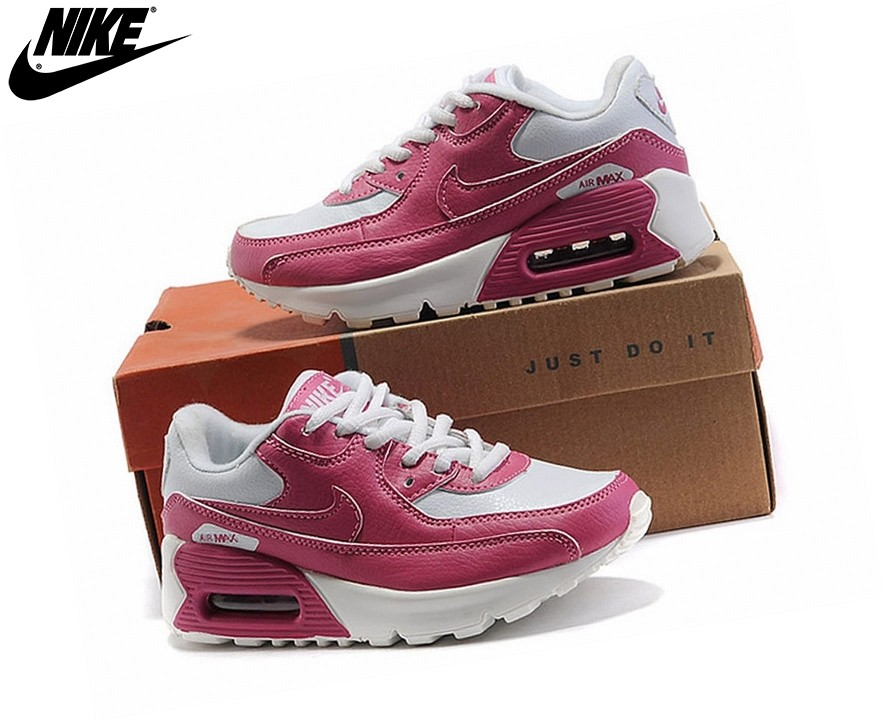 Nike Air Max 90 - Sneakers Pour Fille Nike Pour Enfant Rose/Blanc - Nike Air Max 90 Sneakers Pour Fille Nike Pour Enfant Rose/Blanc-2