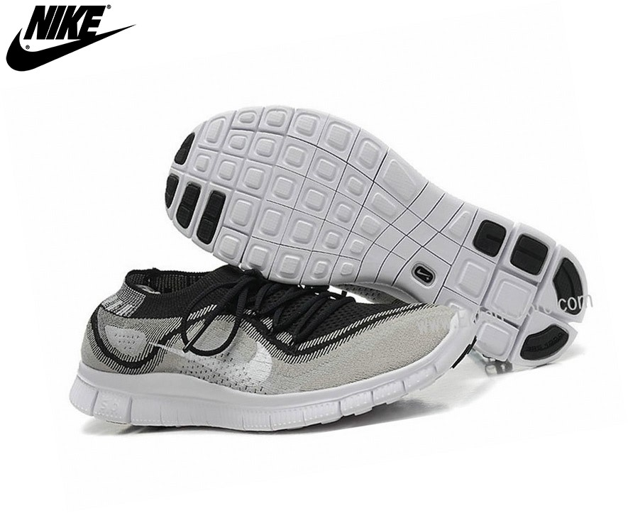 Nike Free Flyknit Chaussures Homme De Running Le Nike Free Black Dark Grey 615806-012 - Nike Free Flyknit Chaussures Homme De Running Le Nike Free Black Dark Grey 615806-012-2