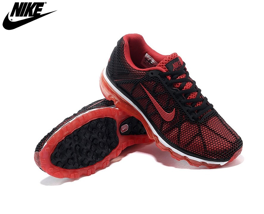 Nike Air Max+ Fitsole2 Homme Running Chaussures Rouge/Noir - Nike Air Max+ Fitsole2 Homme Running Chaussures Rouge/Noir-2