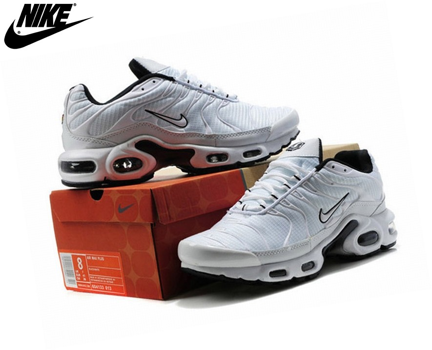 Nike Homme Chaussures De Course Tn Requin/Nike Tuned Blanc - Nike Homme Chaussures De Course Tn Requin/Nike Tuned Blanc-3