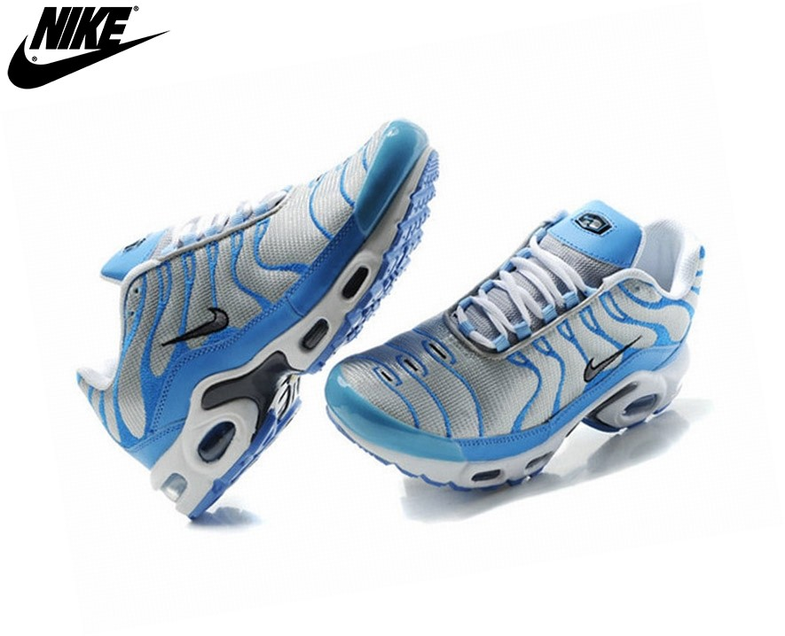 Nike Homme Chaussures De Course Tn Requin/Nike Tuned Bleu Clair/Argent - Nike Homme Chaussures De Course Tn Requin/Nike Tuned Bleu Clair/Argent-1