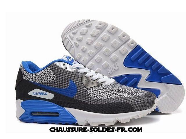Nike Air Max 90 Seamless Gris Bleu Homme Nike Air Max 90 - Nike Air Max 90 Seamless Gris Bleu Homme Nike Air Max 90